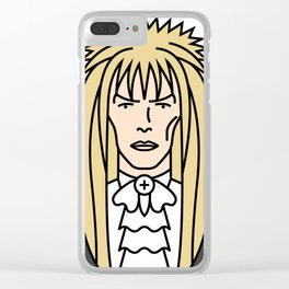 David Bowie – Jareth, the Goblin King Clear iPhone Case
