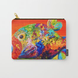 Deviously Dappled Carry-All Pouch