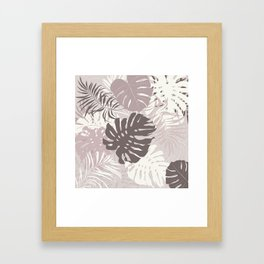 Shadows in the jungle Framed Art Print