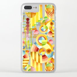 Art Deco Maximalist Clear iPhone Case