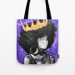 Naturally Queen II PURPLE Tote Bag