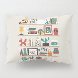 The shelf Pillow Sham