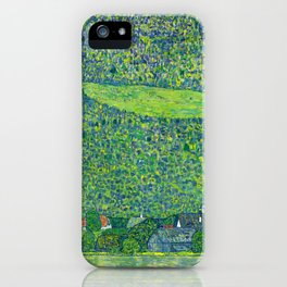 Klimt - Litzlberg on the Attersee (new editing) iPhone Case