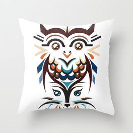 No Mystery Left Throw Pillow