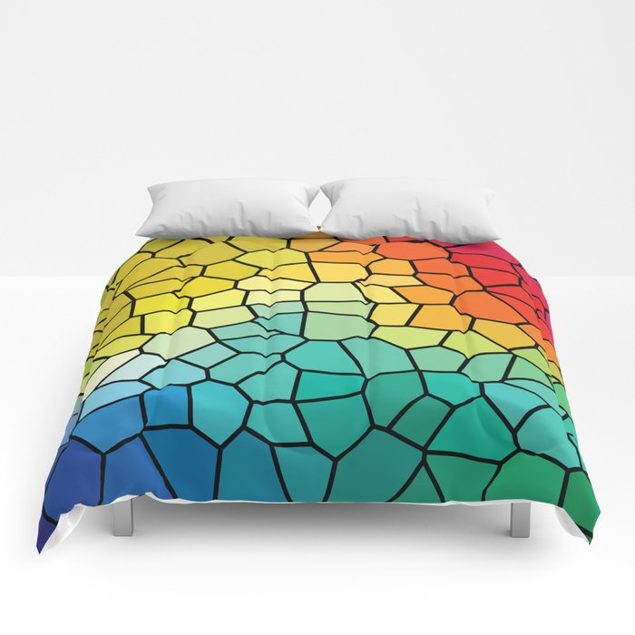 Super Cool Stained Glass Window Comforters