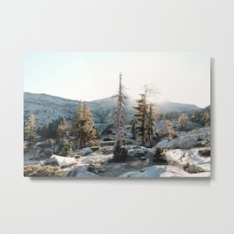 Home Is Where You Pitch It Metal Print