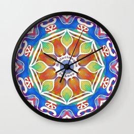 Magic Kaleidoscope Wall Clock