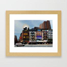 Walk on Little Fuzhou - New York Framed Art Print