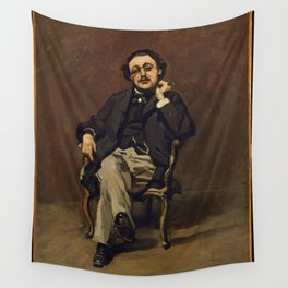Claude Monet - Dr. Leclenché (1864) Wall Tapestry