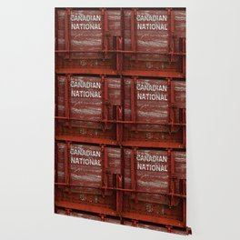 Red Wagon Wallpaper