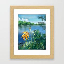 Lillie's on the River Framed Art Print