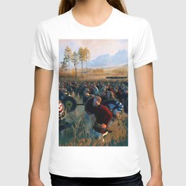 Medieval Army in Battle T-shirt