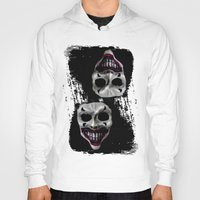 psycho Hoodies featuring psycho by arTistn