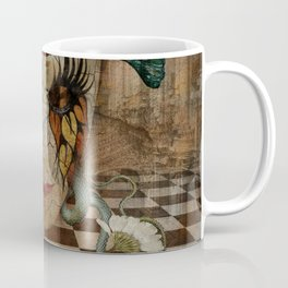 Venetian Mask in Fantasy World Coffee Mug