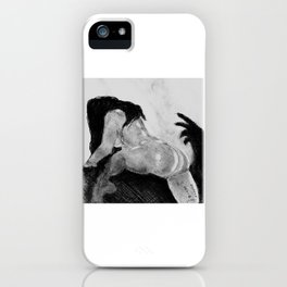 Climbing Out iPhone Case