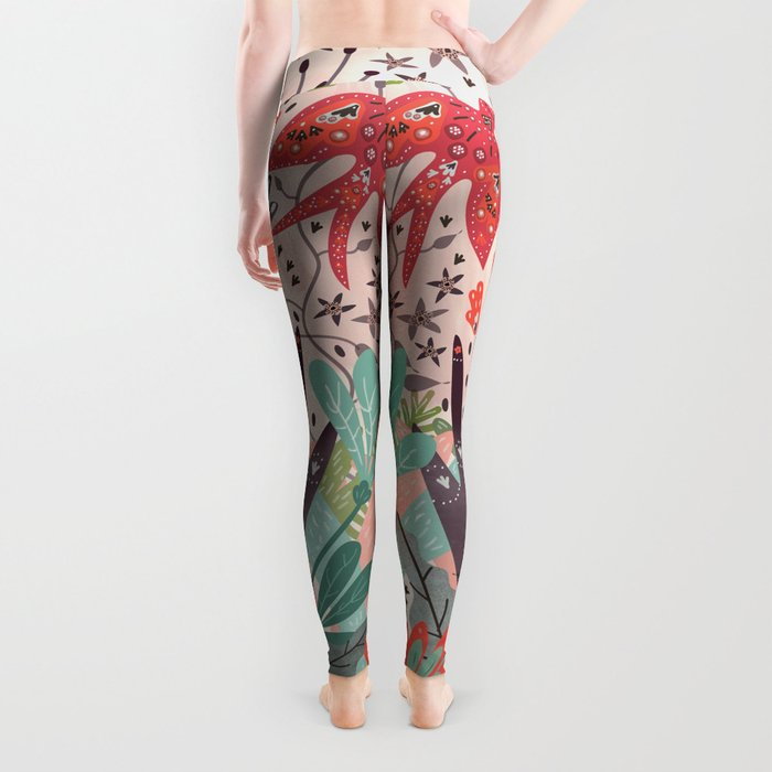 Spring Bird Leggings