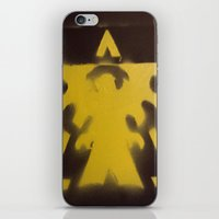 starcraft iPhone & iPod Skins featuring SC Terran Easy by leafindawind