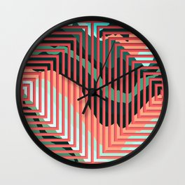 TOPOGRAPHY 2017-012 Wall Clock