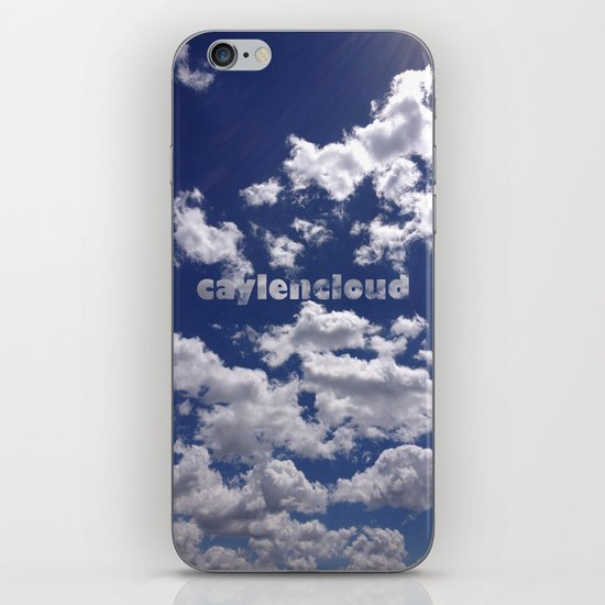 CaylenCloud. iPhone Skin