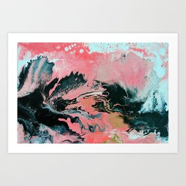 Coral Overture Art Print