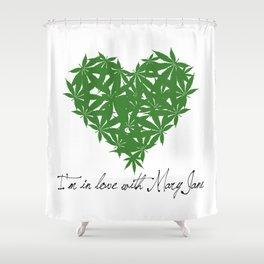 Mary Jane Shower Curtain