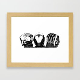 The Fireteam Framed Art Print