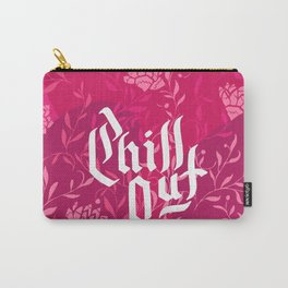 Chill Out Pink Carry-All Pouch
