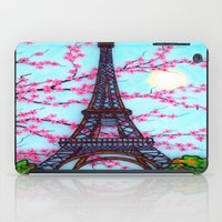 eiffel tower iPad Cases featuring Eiffel Tower by ArtLovePassion
