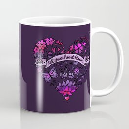 Let Your Heart Bloom Coffee Mug