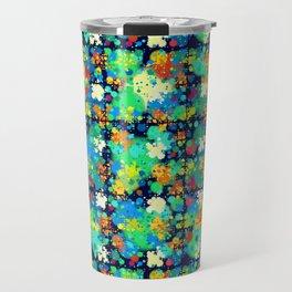 Colorful small circles pattern Travel Mug