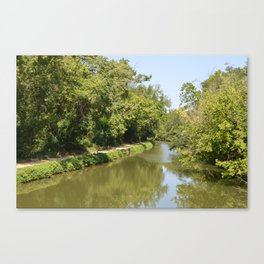 C&O Canal Towpath Canvas Print