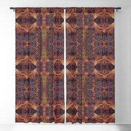 Gilded Symmetry Geometric Art // 2021_018 Blackout Curtain