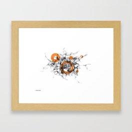02: Brainstorm Framed Art Print