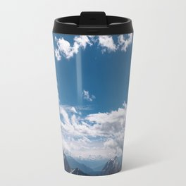 A beautiful day in the mountains Travel Mug