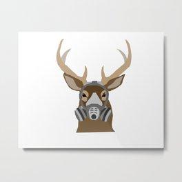 Modern Deer Metal Print