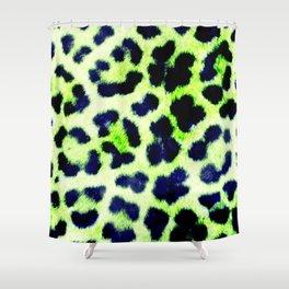 Glamorous Leopard Skin Shower Curtain