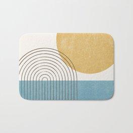 Sunny ocean Bath Mat