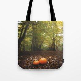 Family Pumpkin Tote Bag