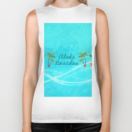 Aloha Beaches Biker Tank