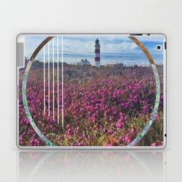 Lighthouse - circle graphic Laptop & iPad Skin