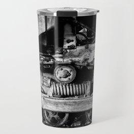 Vintage Caterpillar Tracks Travel Mug