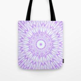Lavender. Kaleidoscope Tote Bag