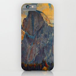 Vintage Yosemite National Park iPhone Case