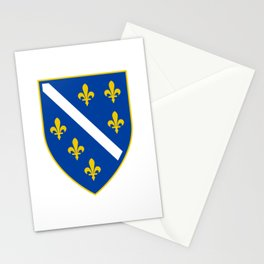 Coat of arms of Bosnia and Herzegovina Stationery Cards