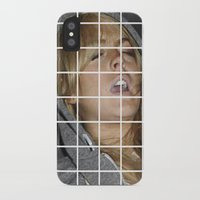 lindsay lohan iPhone & iPod Cases featuring Lohan by Rude Lewd & Crude