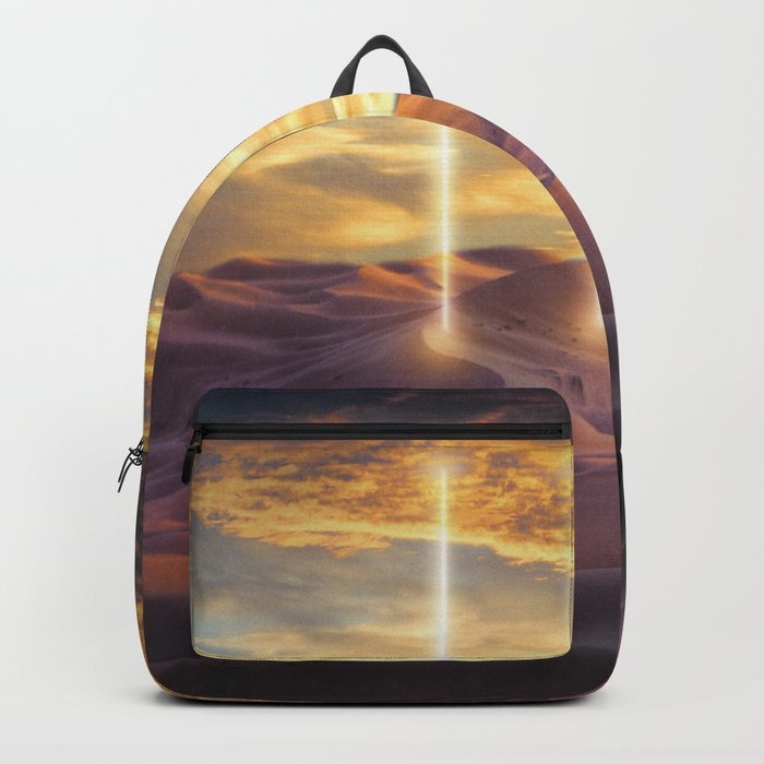 Escape through the light Backpack