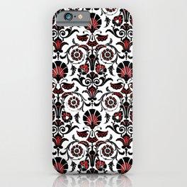 Fiesta Red Motif iPhone Case