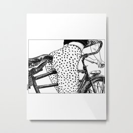 asc 409 - Le velociraptor (The velocirapor) Metal Print