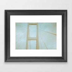 On Building Better Bridges Framed Art Print
