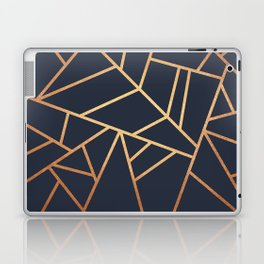 Copper and Midnight Navy Laptop & iPad Skin